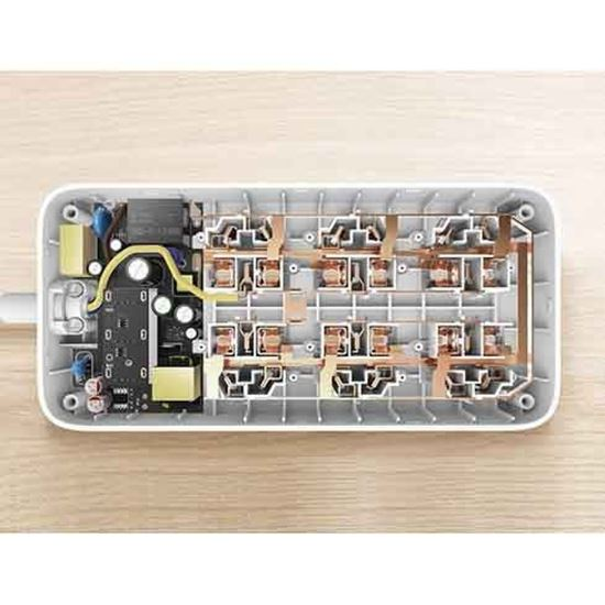 چند راهی برق مدل NRB4009CN شیاومی