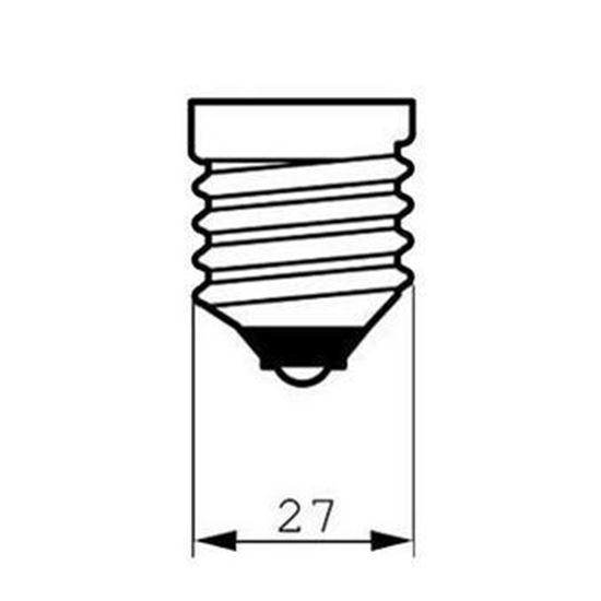 لامپ ال ای دی ۱۷ وات دلتا مدل اطلس پایه E27