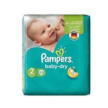 پوشک سایز 2 مدل Baby Dry بسته 33 عددی پمپرز
