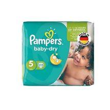 پوشک سایز 5 مدل Baby Dry بسته 23 عددی پمپرز