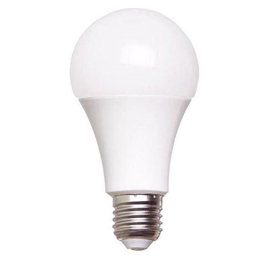 لامپ ال ای دی حبابی 9 وات پایه E27 دیلایت /آفتابی