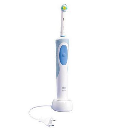 مسواک برقی اورال-بی مدل Vitality D12.513w 3D White | Oral-B Vitality D12.513w 3D White Electric Toothbrush