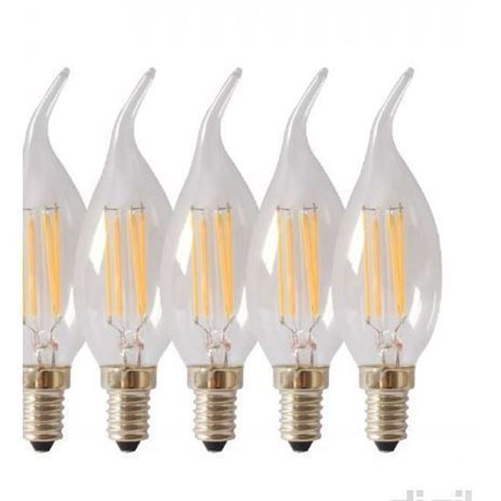 لامپ فیلامنتی 4 وات تکنوتل مدل 204 پایه E14