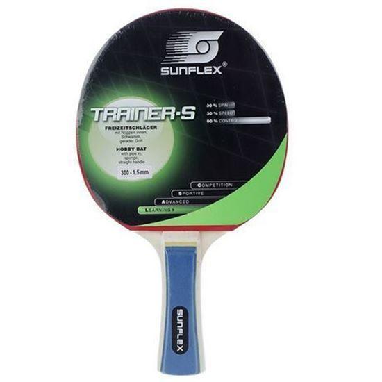 راکت پينگ پنگ سان فلکس مدل Trainer-S Level 300 | Sunflex Trainer-S Level 300 Ping Pong Racket