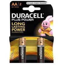 باتری قلمی آلکالاین دوراسل طرح Plus Power AA Alkaline Batteries