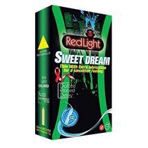 کاندوم ردلایت خاردار توت فرنگی و شکلات مدل Sweet Dream بسته 12 عددی