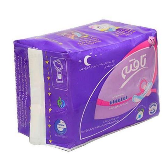 نوار بهداشتی شب تافته مدل Ultra thin بسته 10 عددی