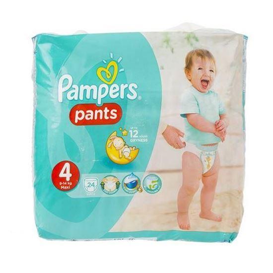پوشک پمپرز مدل Pants سایز 4 بسته 24 عددی