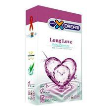 کاندوم ایکس دریم مدل Long Love بسته 12 عددی  XDREAM