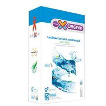کاندوم ایکس دریم مدل Antibacterial And Antifungal بسته 12 عددی