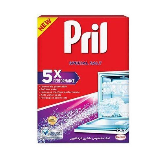 نمک ظرفشویی پریل مدل 5X Performance بسته 2 کیلوگرمی