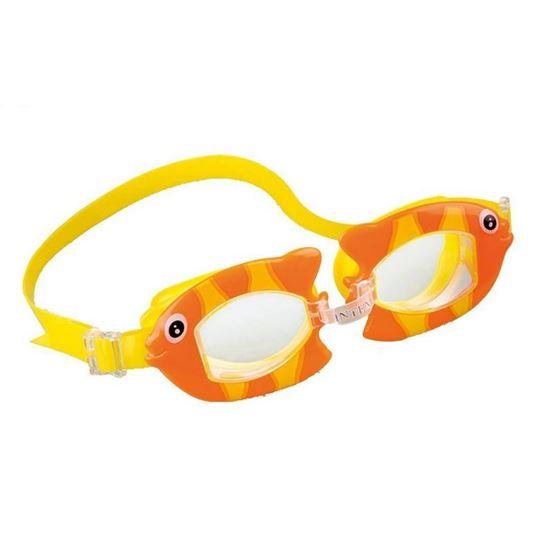 عینک شنا اینتکس عروسکی مدل55603 به همراه دماغگیر و گوش گیر