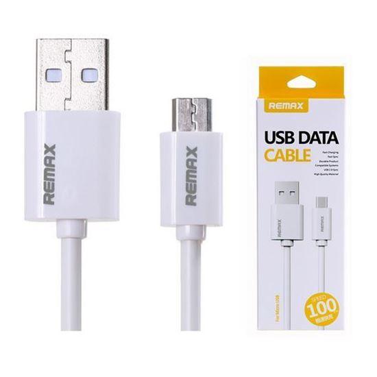 کابل تبدیل USB به microUSB ریمکس مدل Fast Charging طول 1 متر