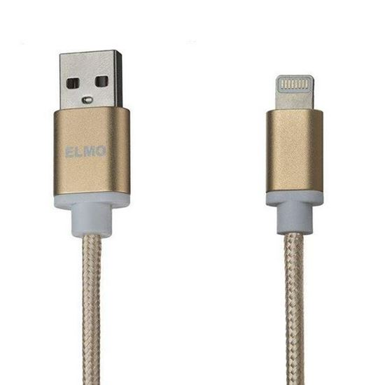 ELMO X-I-N USB To Lightning Charger Cable 1m