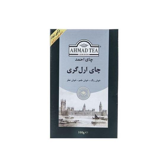 چای احمد مدل Earl Grey بسته 100 گرمی