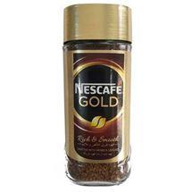 قهوه فوری نسکافه مدل Gold مقدار 100 گرمی