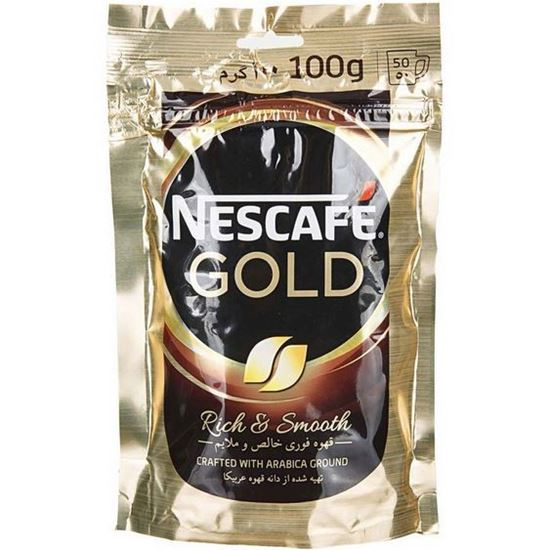 قهوه فوری نسکافه مدل گلد ملایم و خالص 100 گرم