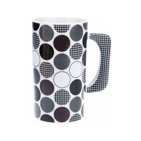 ماگ Multiplechoice طرح سیاه و سفید کد 20122