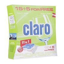 قرص ظرفشویی کلارو مدل 11in1 بسته 20 عددی