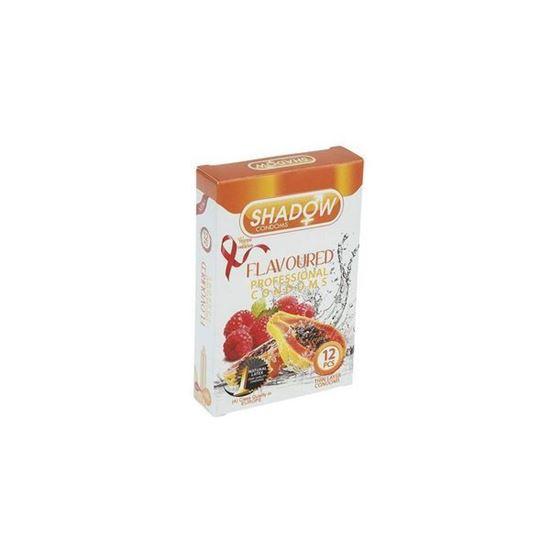 کاندوم شادو مدل Flavoured بسته 12 عددی