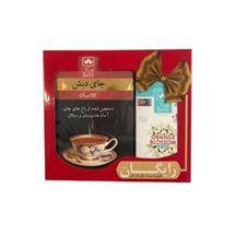 چای کلاسیک چای دبش - 500 گرم و دمنوش کیسه ای بهارنارنج دبش بسته 25 عددی